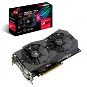 Placa de Vídeo Asus ROG Strix Radeon RX570 OC 8GB, DDR5, 256 Bits - ROG-STRIX-RX570-O8G-GAMING