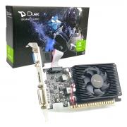 Placa de Vídeo Duex GeForce GT610 2GB, DDR3, 64 Bits, Low Profile, HDMI/DVI/VGA - GT610LP-2GD3