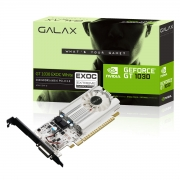 Placa de Vídeo GeForce GT 1030 EXOC White, 2GB, GDDR5, 64 Bits - 30NPH4HVQ5EW