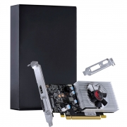 Placa de Vídeo PCYes GeForce GT 1030, 2GB, GDDR5 - PP10302048DR564 - BLACK