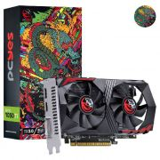 Placa de Vídeo Pcyes GTX 1050 TI 4GB 128bits GDDR5 - PA1050TI12804G5DF - Graffiti Series