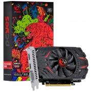 Placa de Vídeo PCYES Radeon RX550, 4GB, GDDR5, 128 Bits, Graffiti Series - PJRX550R5SF