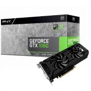 Placa de Video Pny Geforce Gtx 1060 6gb Ddr5 192bits Vcggtx10606pb