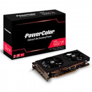 Placa de Vídeo Power Color Radeon RX 5600 XT 6GB GDDR6 192 Bits PCIE 4.0 - AXRX5600XT 6GBD6-3DHV2/OC