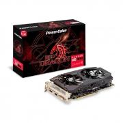 Placa de Vídeo PowerColor Red Dragon Radeon RX 580, 8GB, GDDR5, 256 Bits - 8GBD5 DHDV2/OC