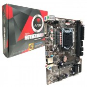 Placa Mãe Afox IH81-MA5 Intel 4ª Geração DDR3 LGA1150