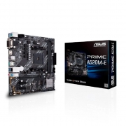 Placa Mãe Asus A520M-E Prime, AMD Socket AM4, DDR4, mATX