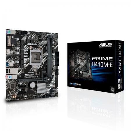 Placa Mãe Asus Prime H410M-E, Intel 10ª Geração, DDR4, LGA 1200