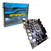 Placa Mãe GHT ZX-H61C (V2.3), Intel 2º/3º Geração, DDR3, LGA1155