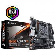 Placa Mãe Gigabyte B450 Aorus M AMD DDR4, mATX, Socket AM4