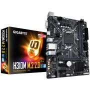 Placa Mãe Gigabyte H310M M.2 2.0 Intel 9ª / 8ª Geração DDR4 LGA1151