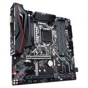 Placa Mãe Gigabyte Z390M Gaming Intel 8º/9º Geração DDR4 DVI/HDMI M.2 LGA1151