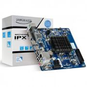 Placa Mãe Integrada PCWare IPX1800G2 Intel Celeron J1800 2.41GHz Dual Core DDR3 Mini ITX
