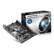 Placa Mãe P/ Intel Asrock H81m-hg4 DDR3 Lga 1150 Micro-Atx