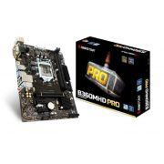 Placa Mãe P/Intel B360MHD PRO D4 Biostar Lga1151 8 Geração