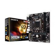 Placa Mãe P/Intel Gigabyte GA-H110M-M.2 LGA1151 DDR4 HDMI