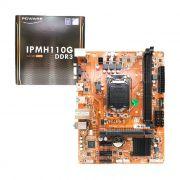 Placa Mãe PCWare IPMH110G Intel 6ª e 7ª geração DDR3 LGA1151