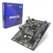 Placa Mãe PCWARE IPMH510G, Intel 10ª/11ª Geração, LGA1200, DDR4, Micro ATX