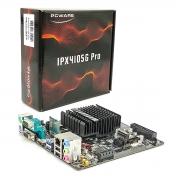 Placa Mãe Pcware IPX4105G PRO, Intel J4105 Quad Core 1.50 GHz (2.50 GHz) Integrada, DDR4 - Mini ITX