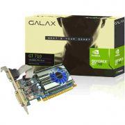 Placa Video GT710 1Gb 64 Bits MainStream Galax 71GGH4HXJ4FN