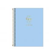 Planner 2020 Espiral Happy Azul, Tilibra - 307068