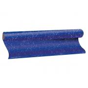 Plástico Adesivo com Gliter Azul, 1 rolo de 45cm X 10m - Dac
