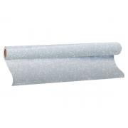 Plástico Adesivo Com Gliter Prata, 1 Rolo de 45cm x 10m - Dac