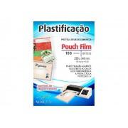 Pouch Film Plastificação 0,5 Officio Contém 100 Lâminas - Mares