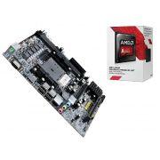 Processador Amd Dual Core A6 7480 3,8Ghz Cache + Placa Mãe Bpc A88FM2
