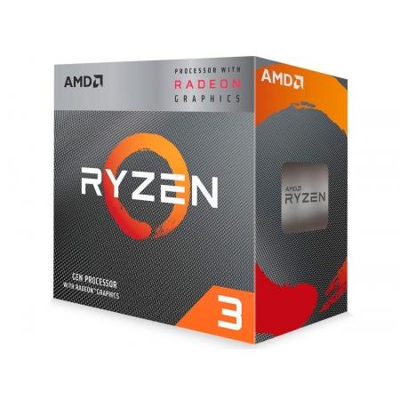 Processador AMD Ryzen 3 3200G 3.6GHz (4GHz Max Turbo) 6MB Socket AM4 - YD3200C5FHBOX