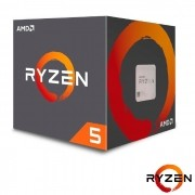 Processador AMD Ryzen 5 2600 3.4GHz (3.9GHz Turbo) 6-Cores/12T 19MB, Socket AM4 - YD2600BBAFBOX