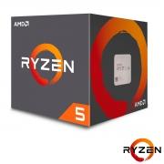 Processador AMD Ryzen 5 2600 3.4GHz (3.9GHz Turbo) 6-Cores/12T 19MB, Socket AM4 - YD2600BBAFBOX