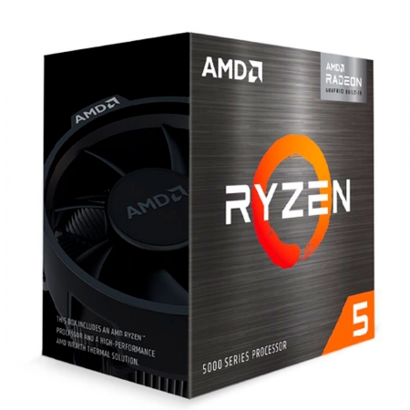 Processador AMD Ryzen 5 5600G, 3.9GHz (4.4GHz Max Boost), Cache 16MB, AM4 - Video Integrado Vega 7