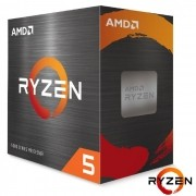 Processador AMD Ryzen 5 5600X, 3.7GHz (4.6GHz Turbo) 6-Cores/12T 35MB, Socket AM4 - 100-100000065BOX