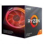 Processador AMD Ryzen 7 3800X 3.9GHz (4.5GHz Max Turbo) DDR4 AM4 36MB Cooler Wraith Prism RGB LED