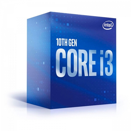 Processador Intel Core I3-10105, 3.7GHz (4.4GHz Turbo), Quad Core LGA1200, 6MB Cache - BX8070110105