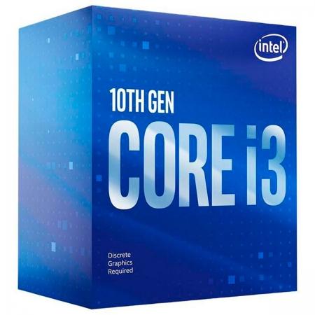 Processador Intel Core I3-10105F 3.70GHz (4.4GHz Turbo) Quad Core LGA1200 6MB Cache - BX8070110105F