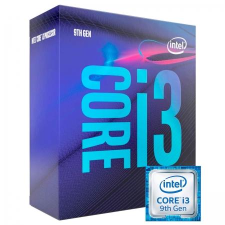 Processador Intel Core I3-9100, 3.6GHz (4.2GHz Turbo), Quad Core LGA1151, 6MB Cache - BX80684I39100