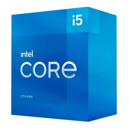 Processador Intel Core I5-11400 2.60Ghz (4.4Ghz Turbo) LGA1200 12MB Cache - BX8070811400 - 11ª Ger