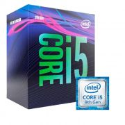 Processador Intel Core i5 9400 LGA 1151, 2.90GHz (4.10GHz Turbo) 9MB, 9ª Ger - Video Integrado