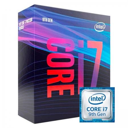 Processador Intel Core I7-9700 3.00GHz (4.70GHz Turbo) Octa Core LGA1151 12MB Cache - BX80684I79700