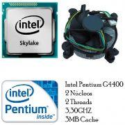 Processador Intel Dual Core G4400 Skylake 3.3ghz 3mb Lga 1151 OEM