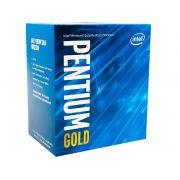 Processador Intel Dual Core G5400 3.70 Ghz Gold LGA1151 Box BX80684G5400