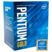Processador Intel Pentium Gold G6400, 10ª Geração, Dual Core, 4.00GHz, LGA1200, 4MB - BX80701G6400