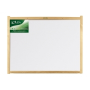 Quadro Branco Standard Moldura de Madeira Luxo 90 x 60 cm Souza - 6192