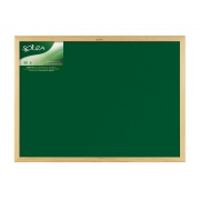 Quadro Verde Standard Moldura de Madeira Natural 120 x 90 cm Souza - 2212