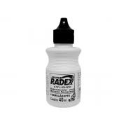 Reabastecedor para Marcador Permanente Atx de 40ml Preto Caixa com 12 - Radex