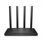Roteador TP-Link Archer C6 AC1200 Gigabit, MU-MIMO, Wireless Wi-Fi 5, Dual Band, 4 Antenas, OneMesh