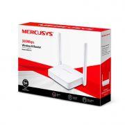 Roteador Wireless 300mbps Mercusys Mw301r Ipv6 C/2-antenas Ext.fixa