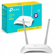 Roteador Wireless 300Mbps TP-Link TL-WR840N W, 10/100, Função Preset, Repetidor, Access Point